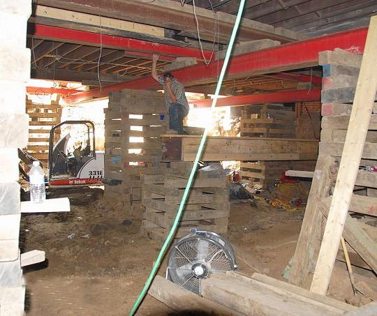 Building a School Basement