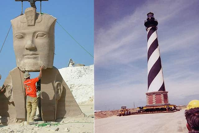 Cairo and Hatteras Lighthouse Structures